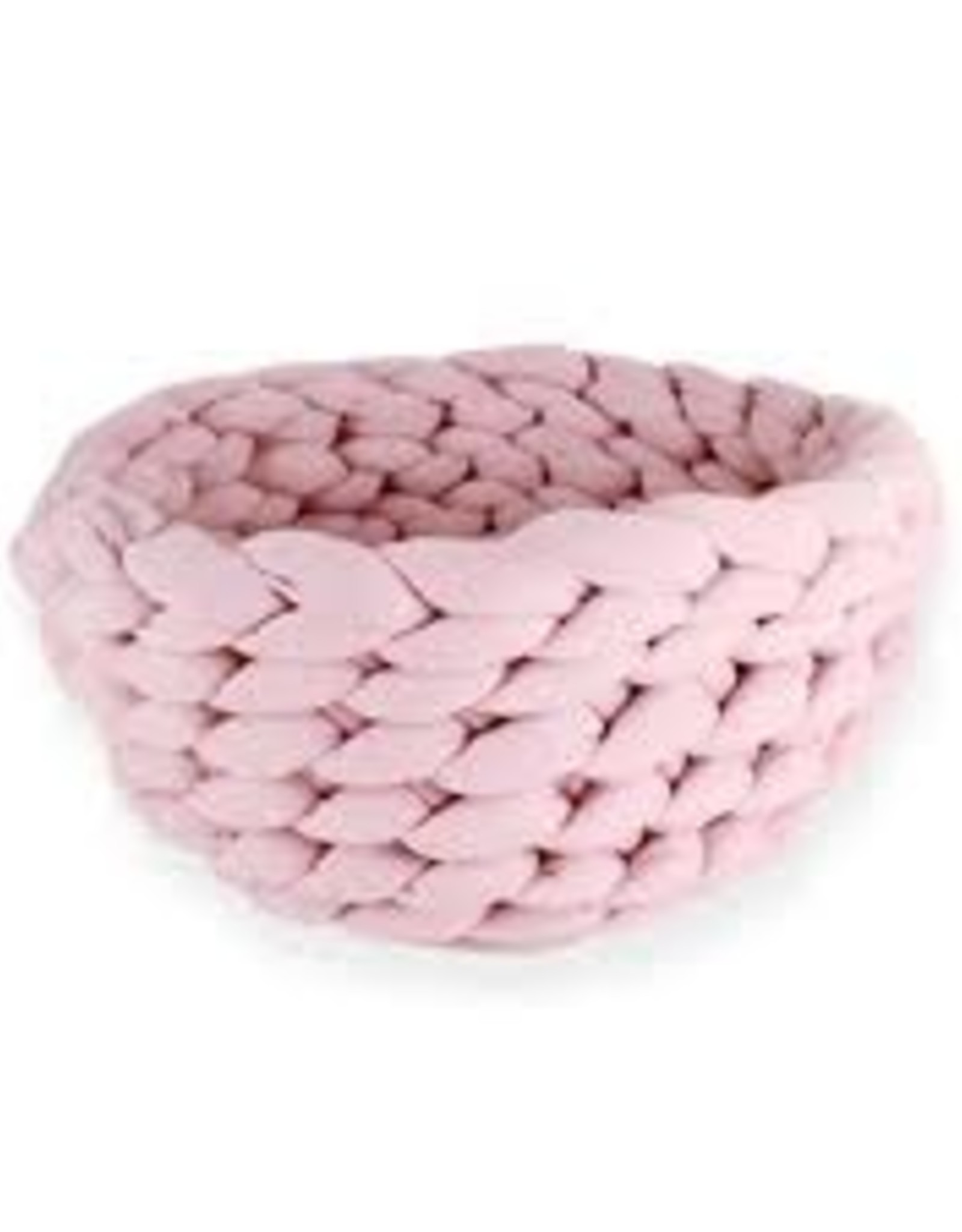 Be One Breed Be One Breed Cat Knitted Bed Pink