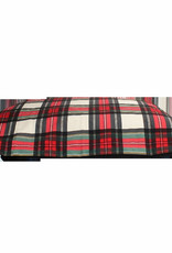 Be One Breed Be One Breed-Cloud Pillow Bed Tartan Medium