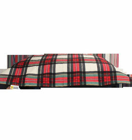 Be One Breed Be One Breed Cloud Pillow  Bed Tartan Medium