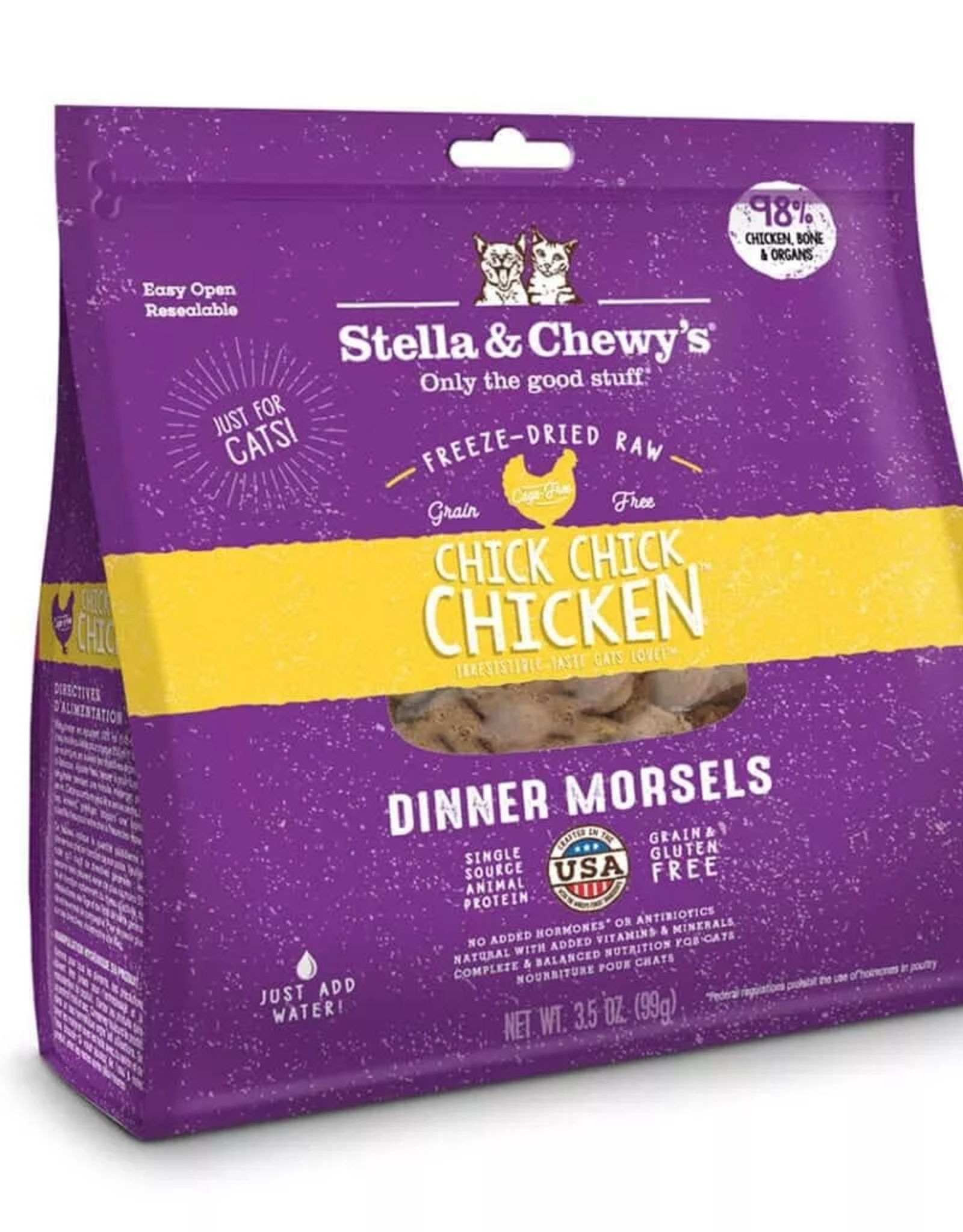 Stella and Chewy Stella & Chewy's FD Cat Chick Chick Chicken 8oz