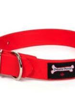 "Smoochy Poochy Smoochy Poochy  Polyvinyl Collar 16"" Red"