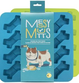 Messy Mutts Messy Mutts Silicone Bake and Freeze Treat Maker-2 pack 12 x 1 oz