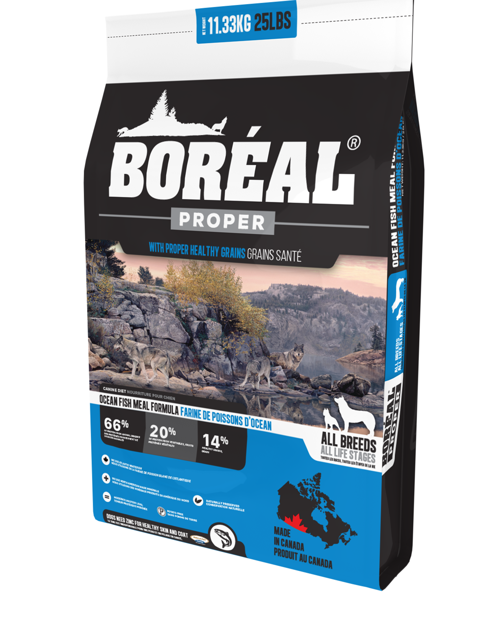 Boreal Boreal Proper Dry Dog-All Formulas & Sizes-