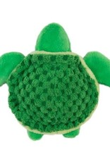 """Tall Tails Tall Tails Plush Turtle Squeaker 4"""""""