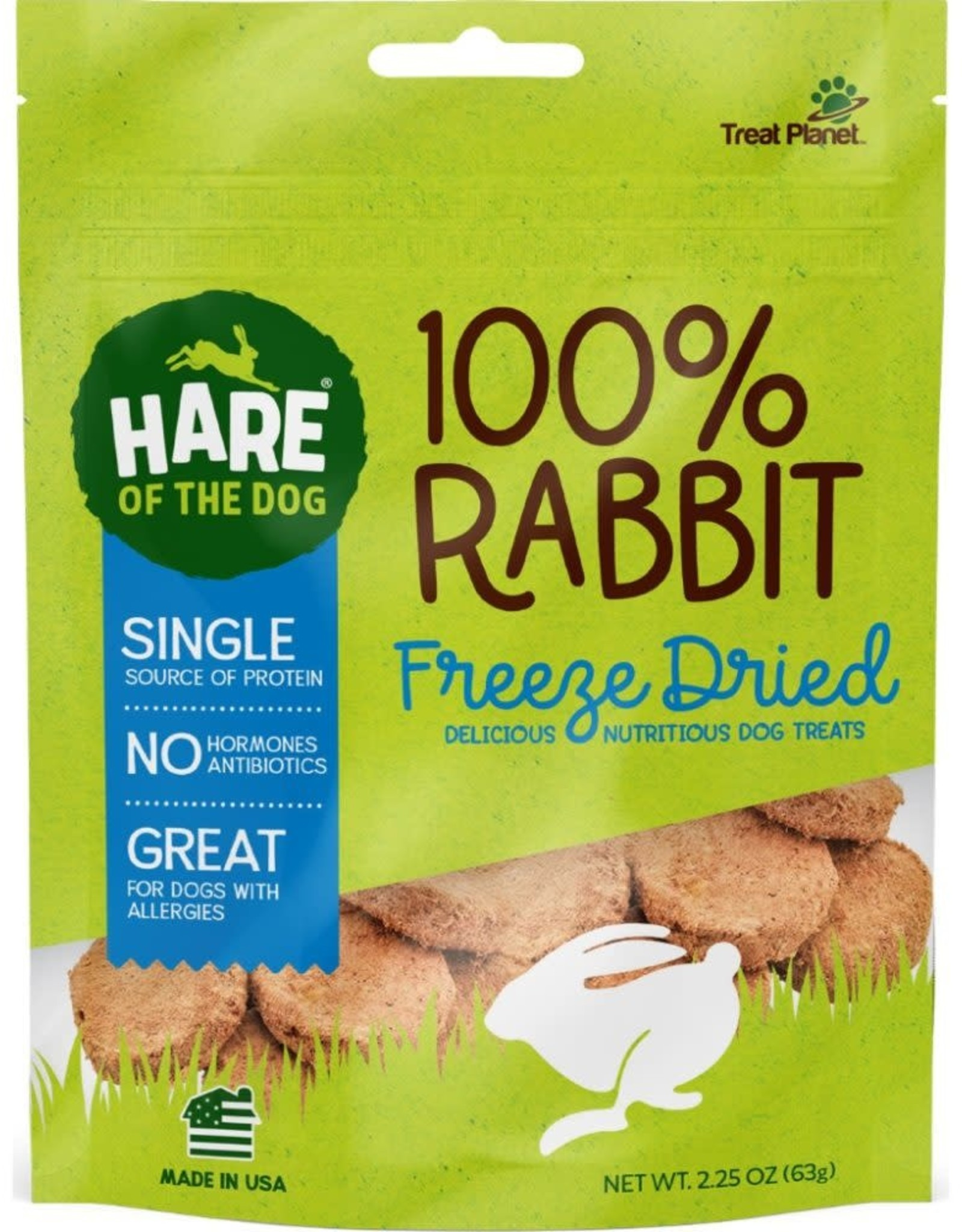 Hare of the Dog Hare Of The Dog Freeze Dried Rabbit 2.25 oz