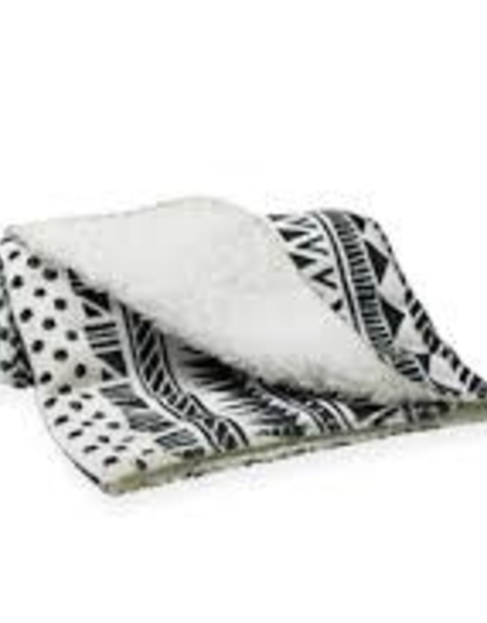 Be One Breed Aztec Soft Blanket Green