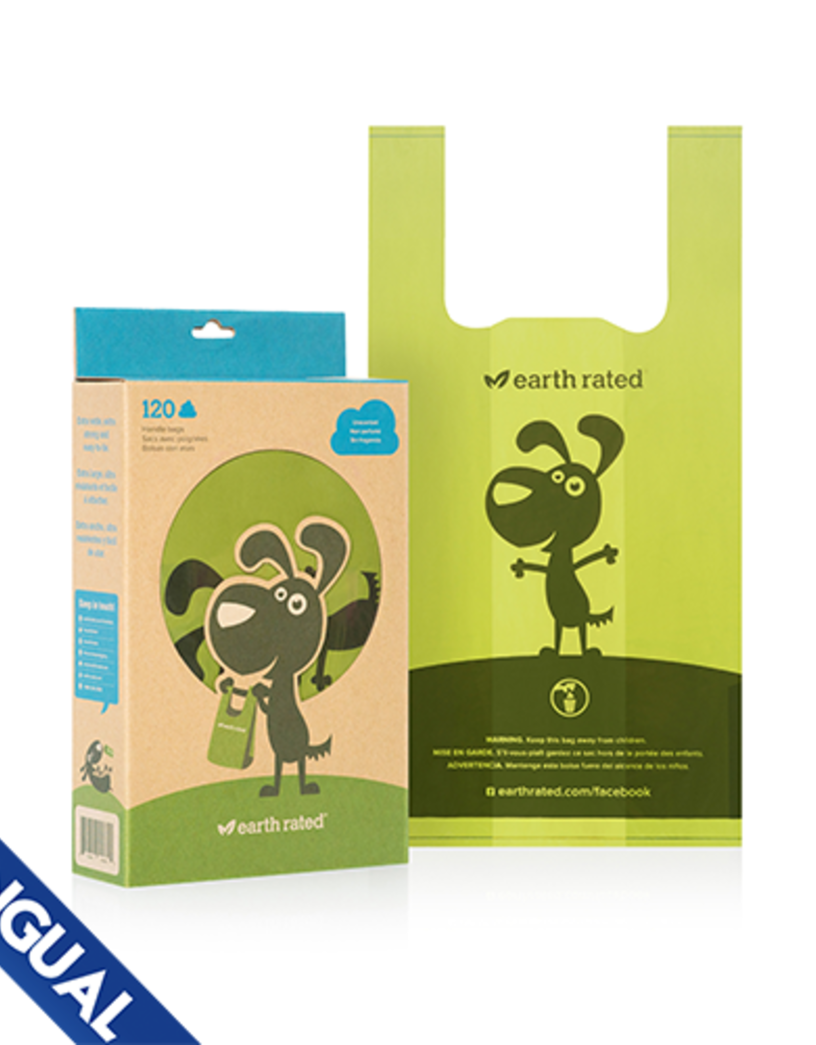 Earth Rated Earth Rated Unscented Handle Waste Bags 120