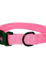 Dogline Dogline Nylon Collar Med Pink