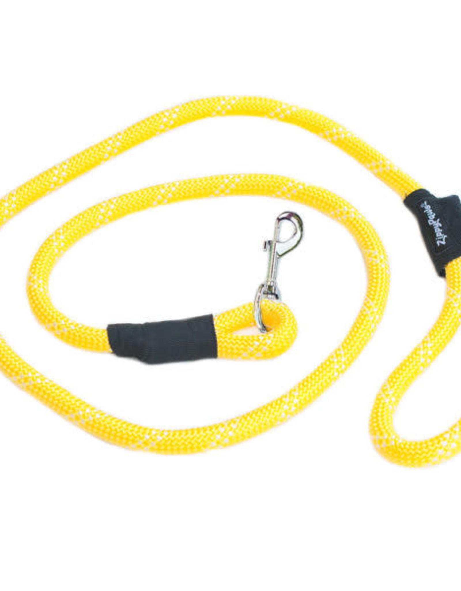 Zippy Paws Zippy Paws  Climber Leash Original  Yellow 6 FT