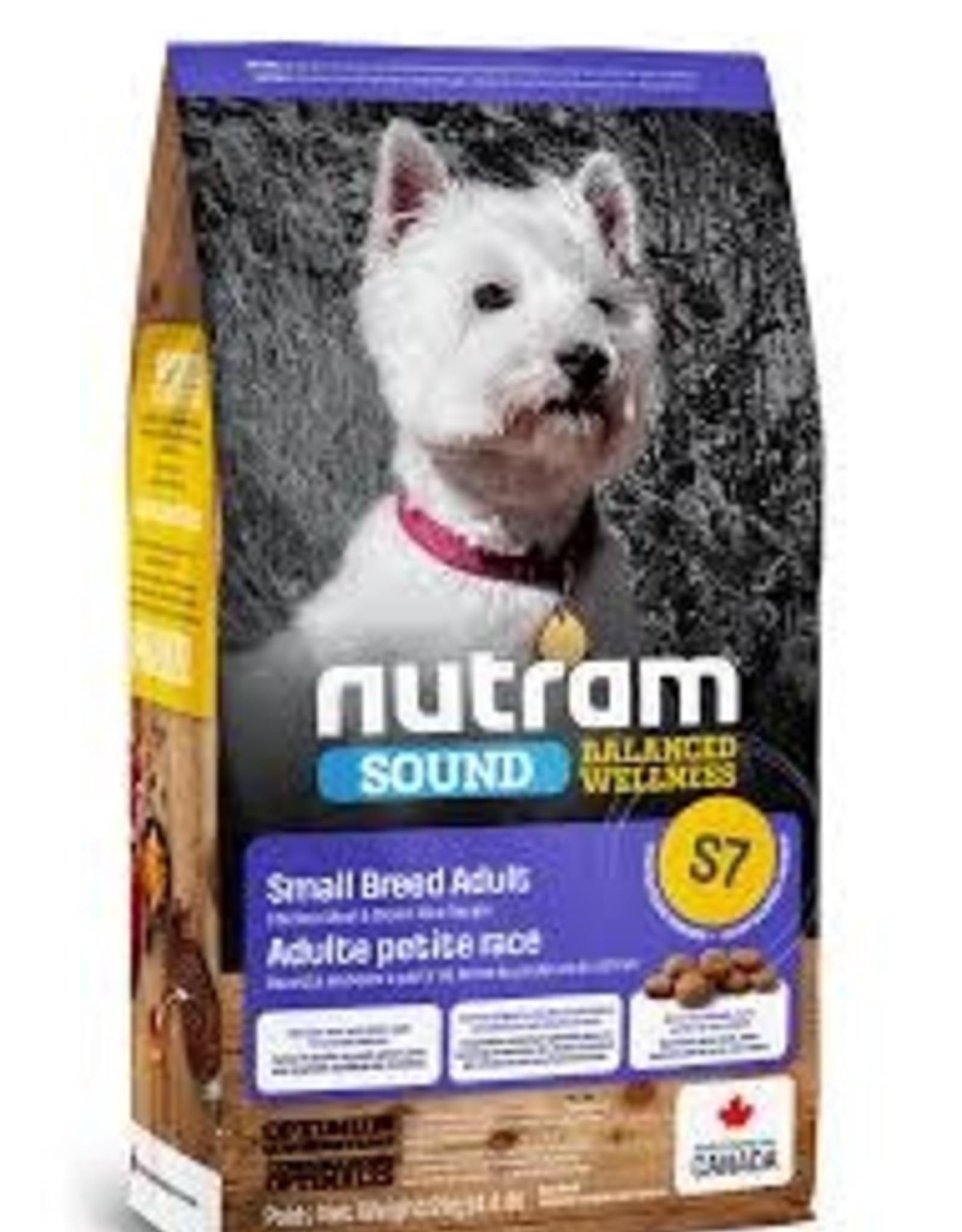 Nutram Nutram S7  Small Breed  4.4 LB