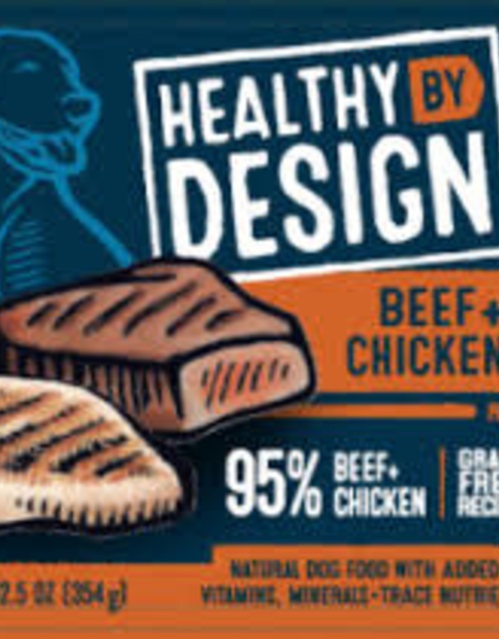 Healthy By Design Healthy By Design Beef & Chicken Pate 12.5 oz