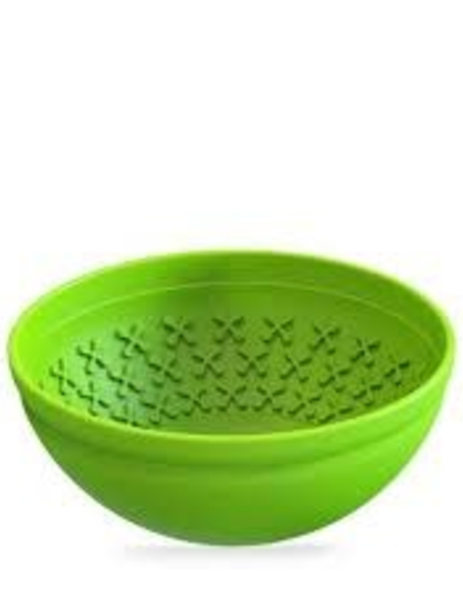 Boredom Busters Boredom Buster Slow Feeder  Bowl Green