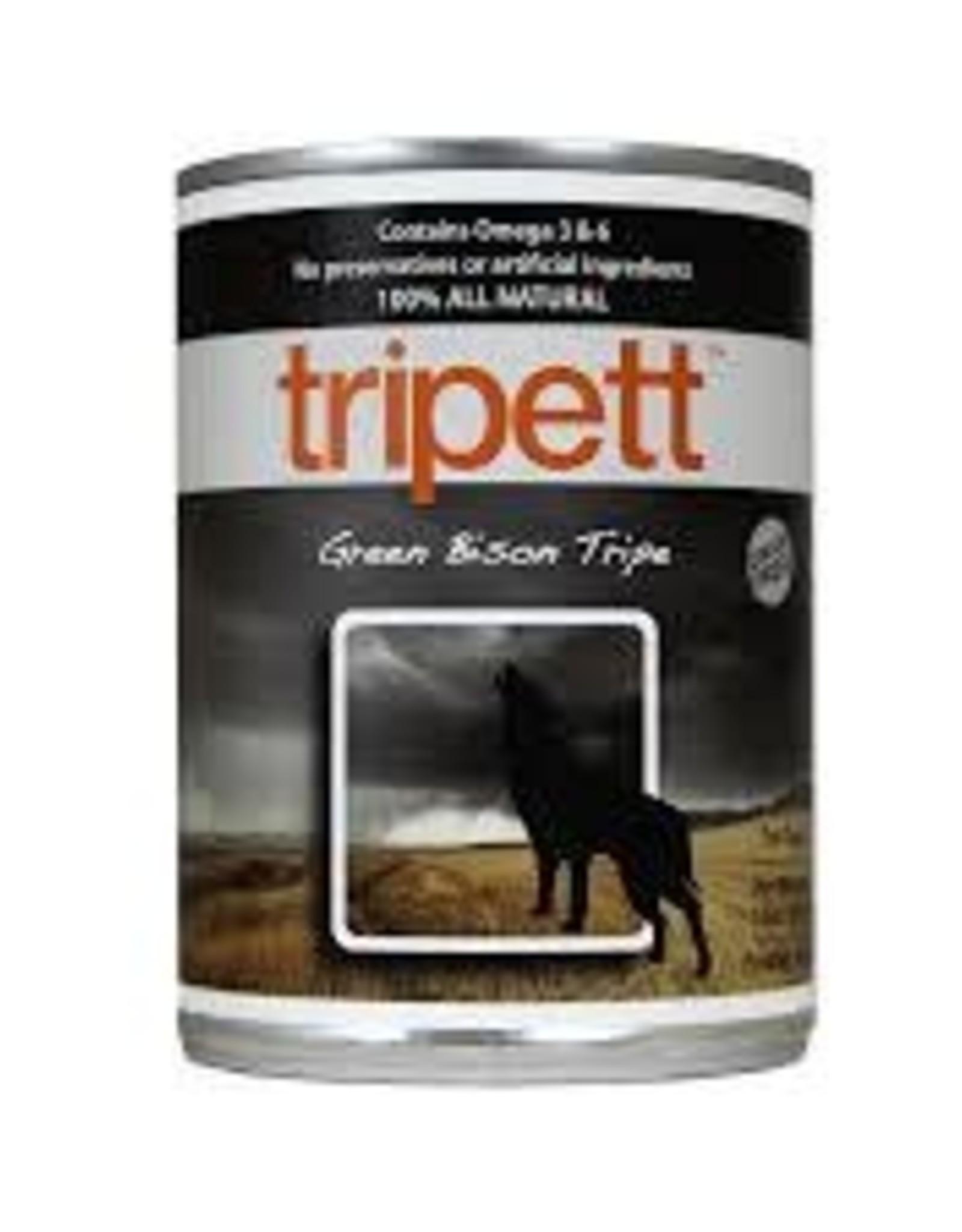 Petkind Tripett Bison Tripe Can 12 oz