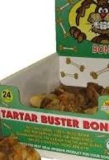 Dog Bites Tartar Buster Bone
