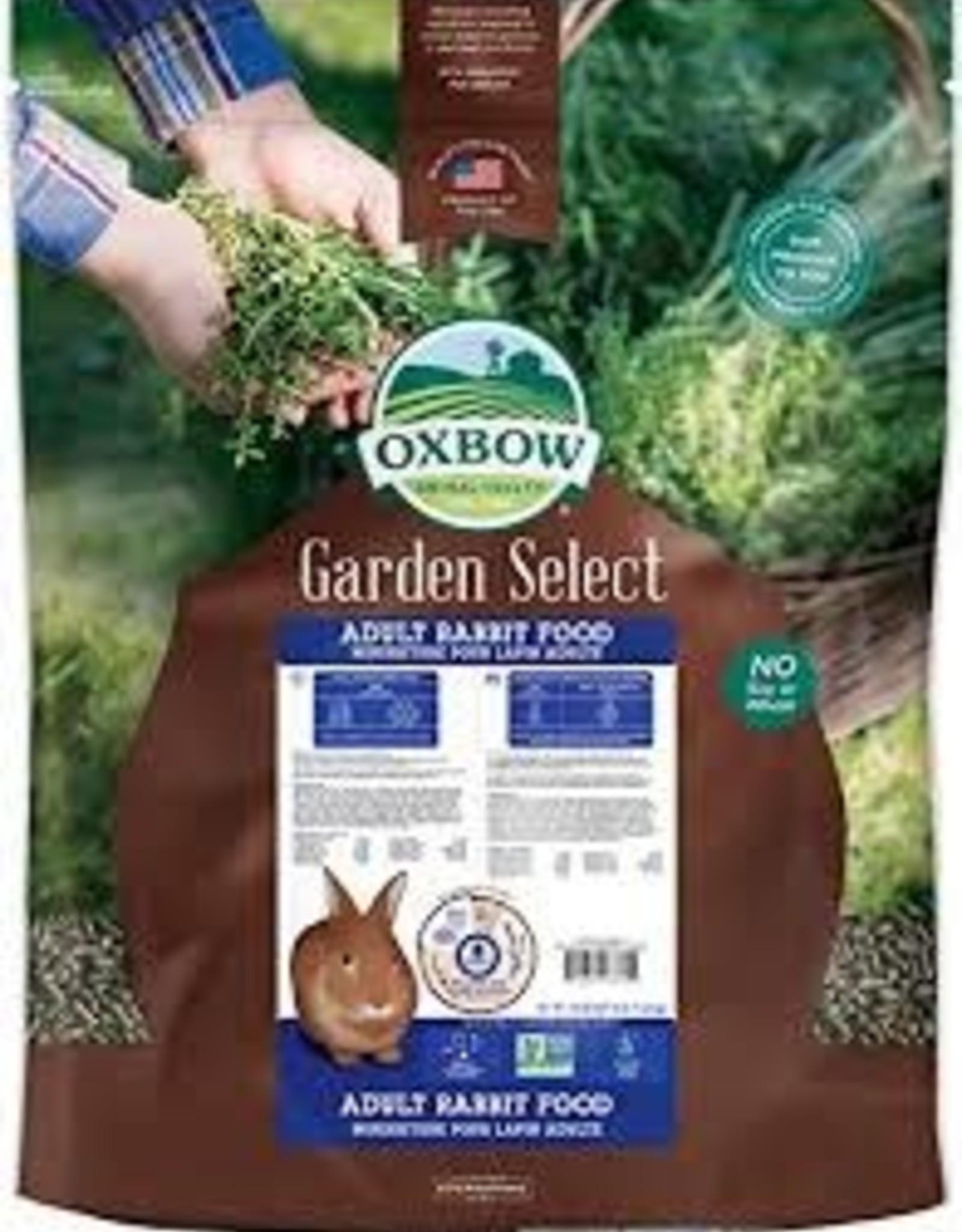 Oxbow Oxbow Garden Select Adult Rabbit 4LB