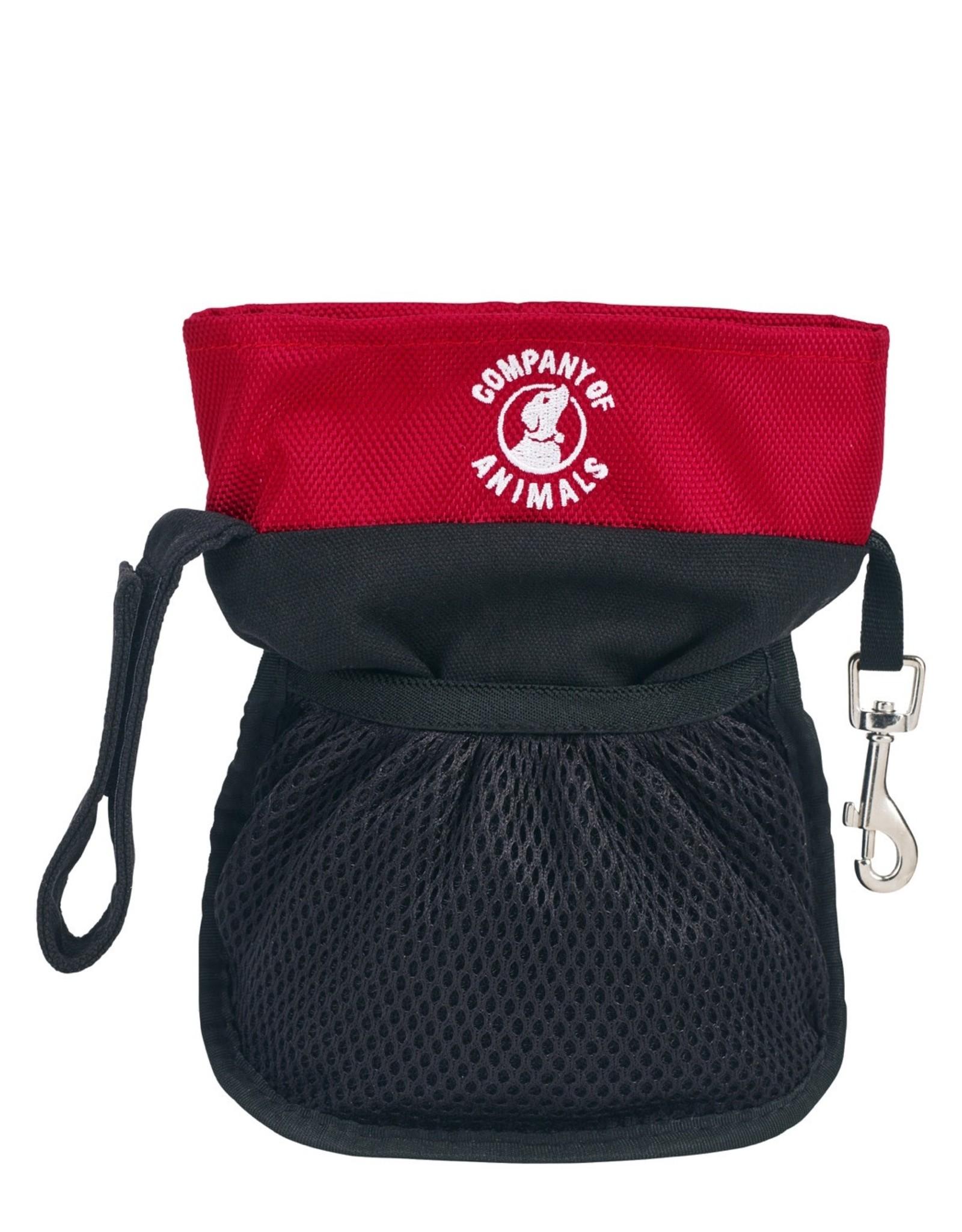 Company Of Animals Company of Animals Clix Pro Treat Bag-red