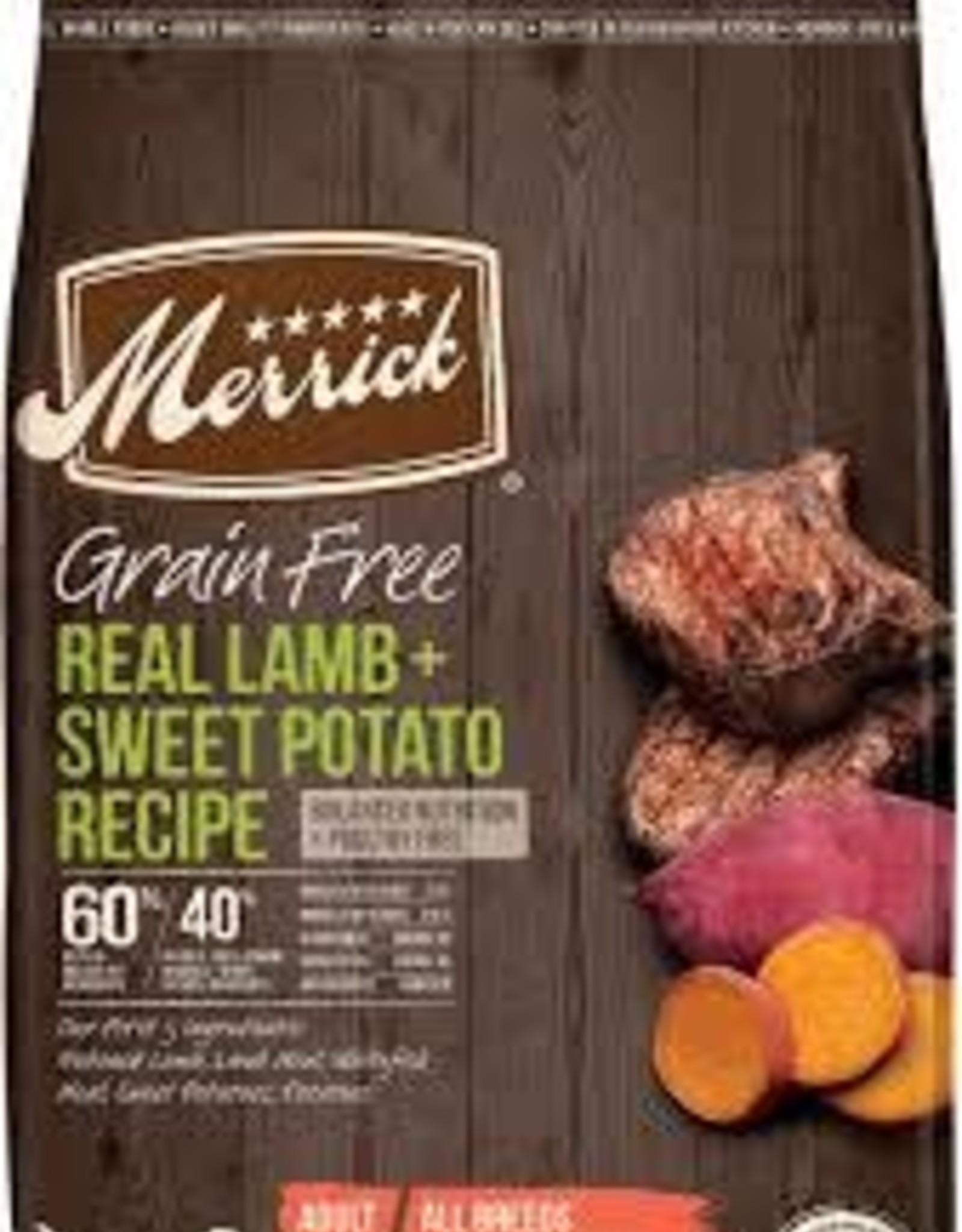 Merrick Merrick Dog Grain Free Lamb & Potato 4 LB