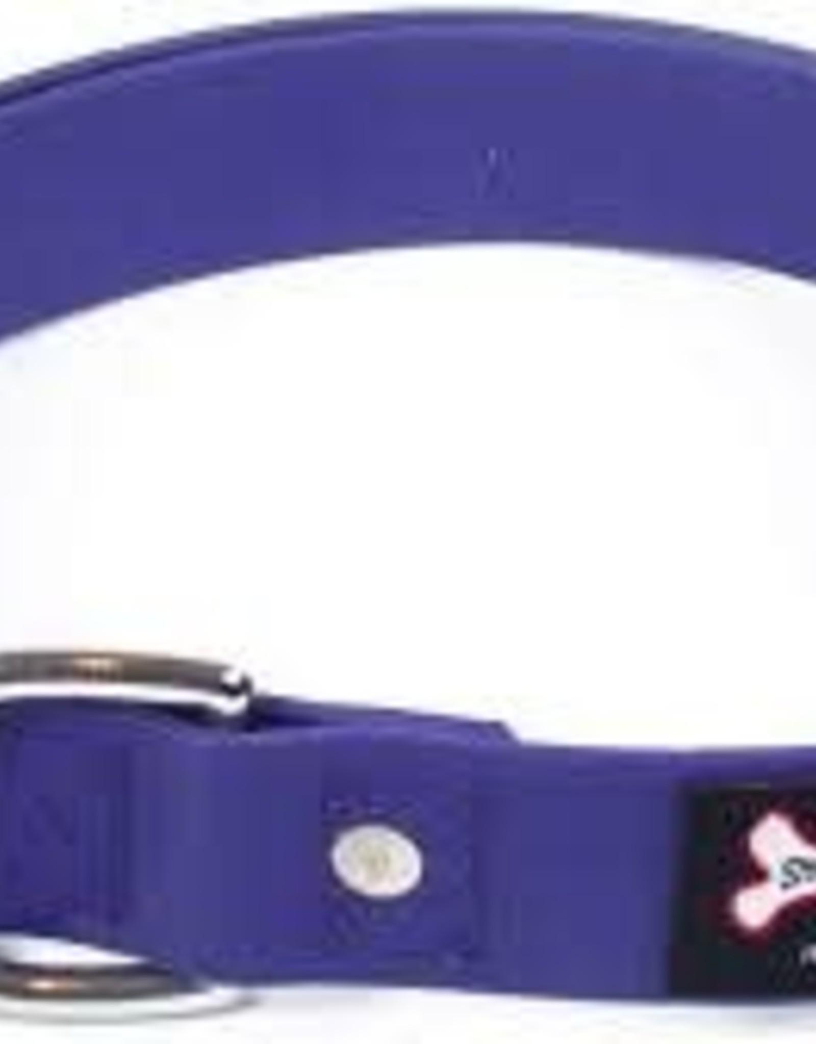 Smoochy Poochy Smoochy Poochy CollarPolyvinyl Quick Release Medium Purple