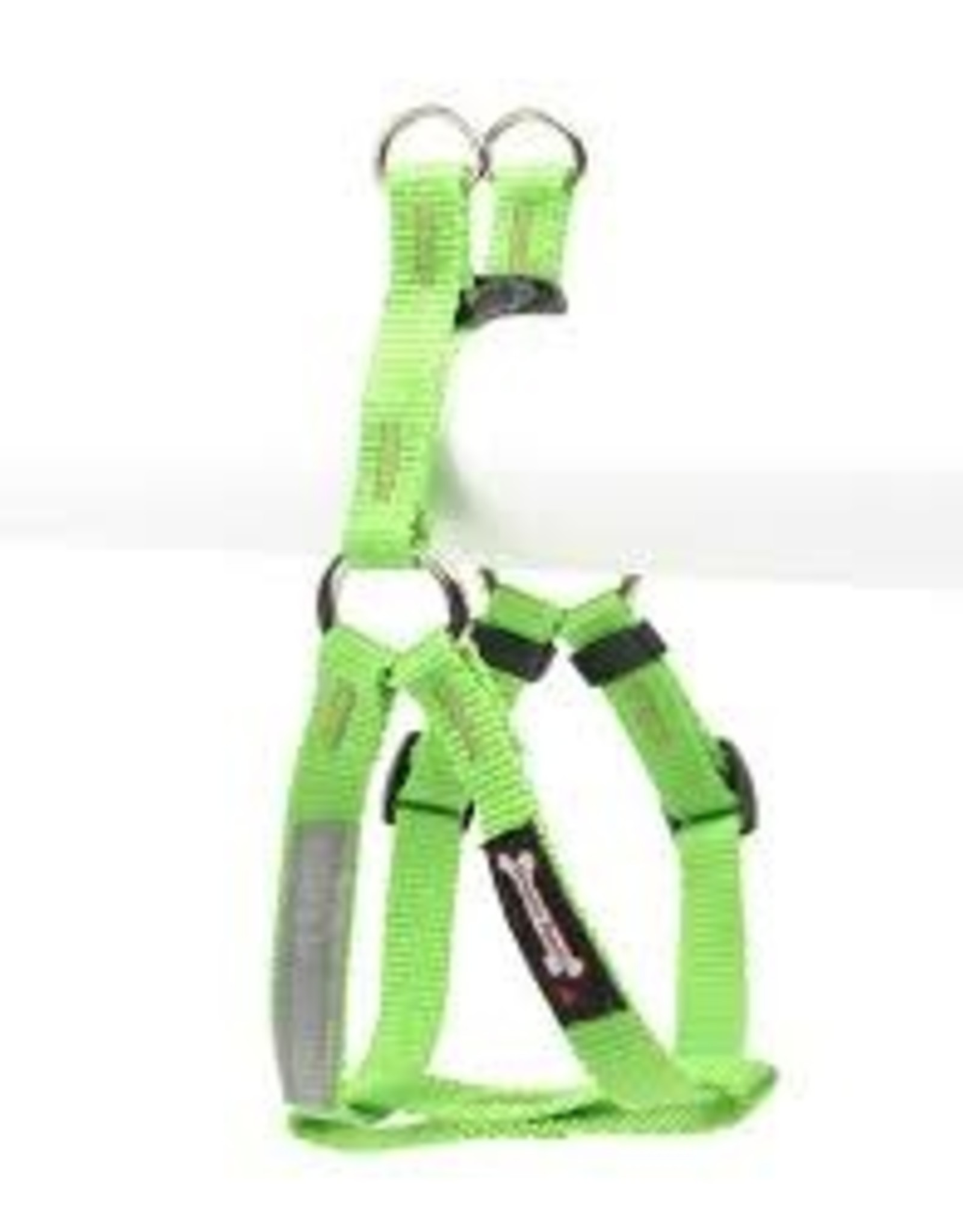 "Smoochy Poochy Smoochy Poochy Step In Harness Medium 5/8"" Apple"