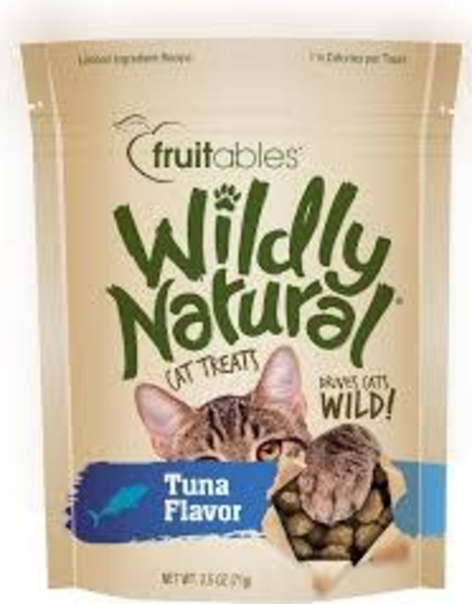 Fruitables Fruitables Cat Treat Tuna 2.5 oz