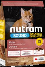Nutram Nutram S1 Kitten 2.5LB