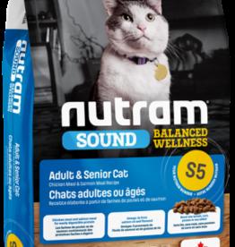 Nutram Nutram S5 Cat  Adult & Senior 2.5 LB