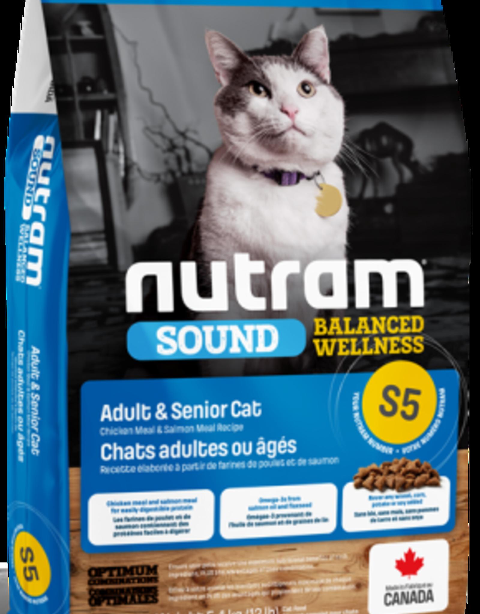 Nutram Nutram S5 Adult Cat 12 LB