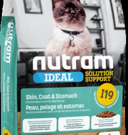 Nutram Nutram I19 Cat  Skin, Coat and Stomach 12 L B