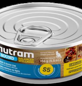 Nutram Nutram S5 Cat Adult & Senior  156 g