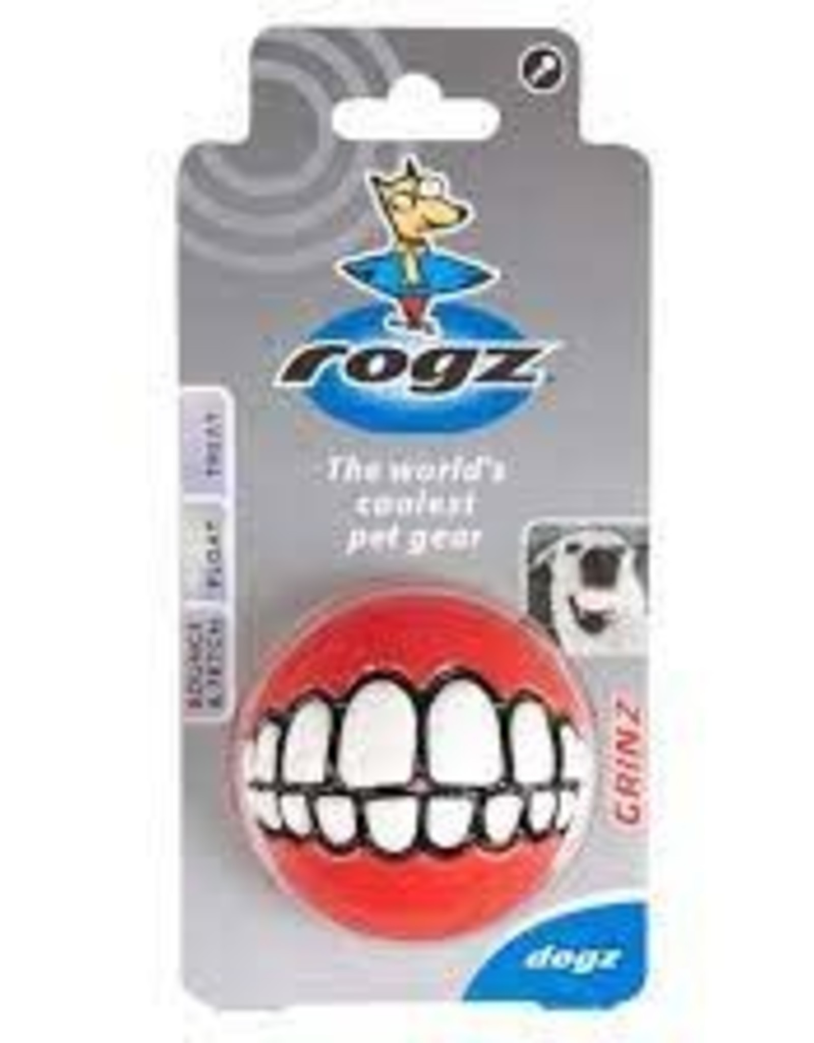 Rogz Rogz Grinz Treat Ball 2.5 inch