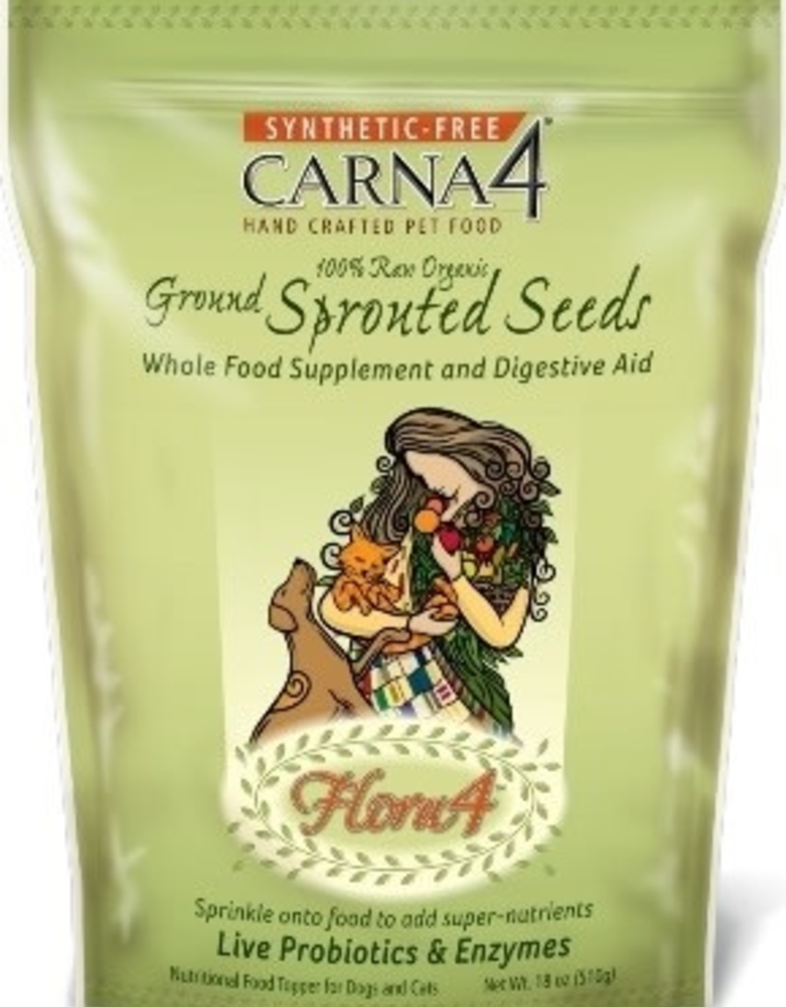 Carna4 Carna4 Sprouted Seeds Topper 1.5 oz