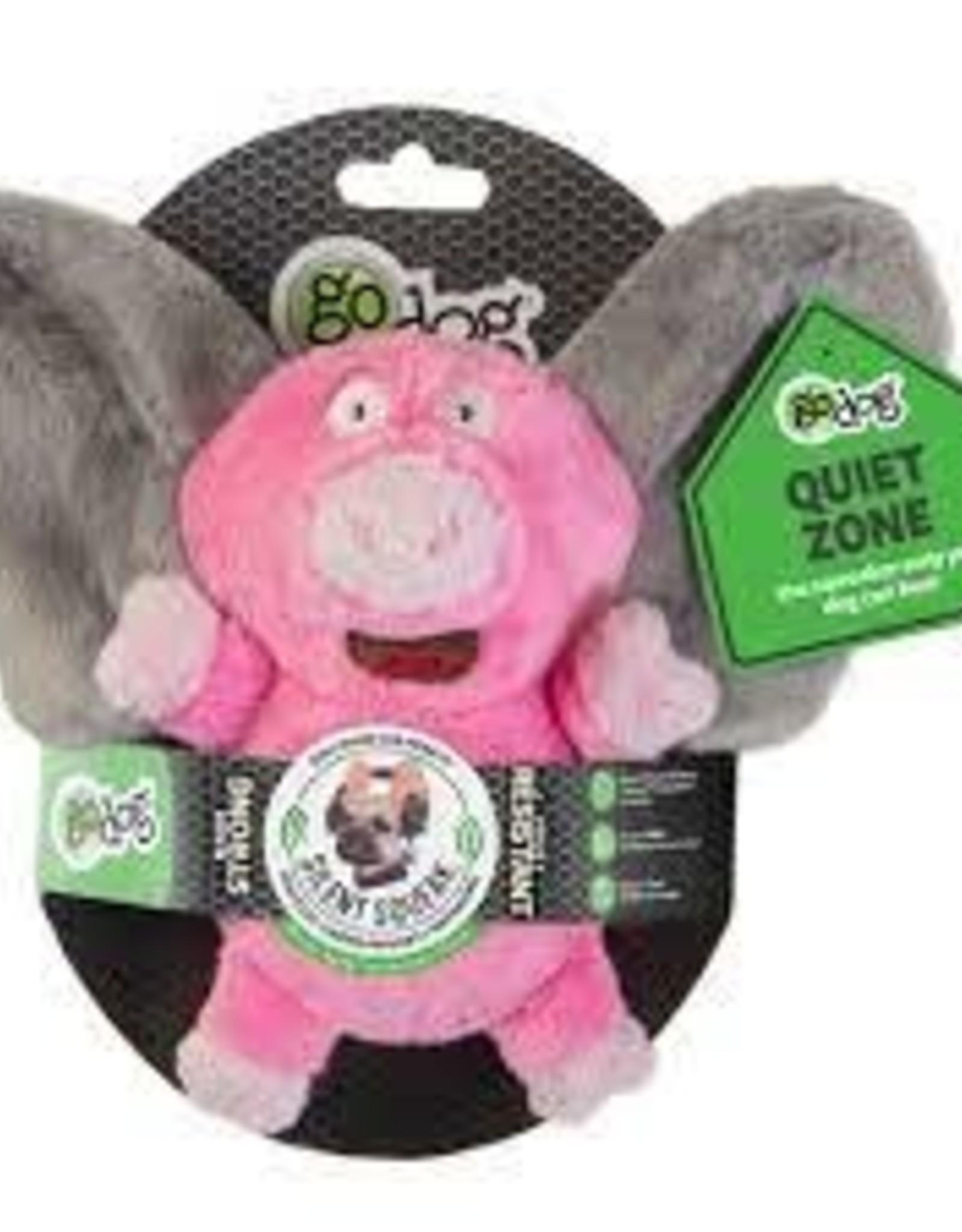 GoDog GoDog Pig Elephant Silent Squeaker Small