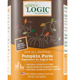 Nature's Logic Nature's Logic 100% Pumpkin Puree 15 oz