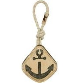 """Tall Tails Tall Tails  Leather & Wool Anchor 14"""""""