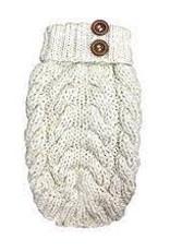 foufou foufou Cable Sweater Cream XL