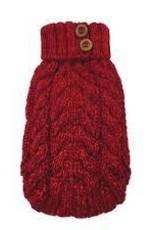 foufou foufou Cable Sweater Red  XL