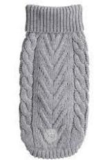 GF PETS GF PET Chalet Sweater Grey Medium