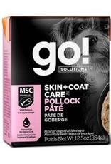 GO GO! Tetra Pollock Pate Skin & Coat Dog 12.5 OZ