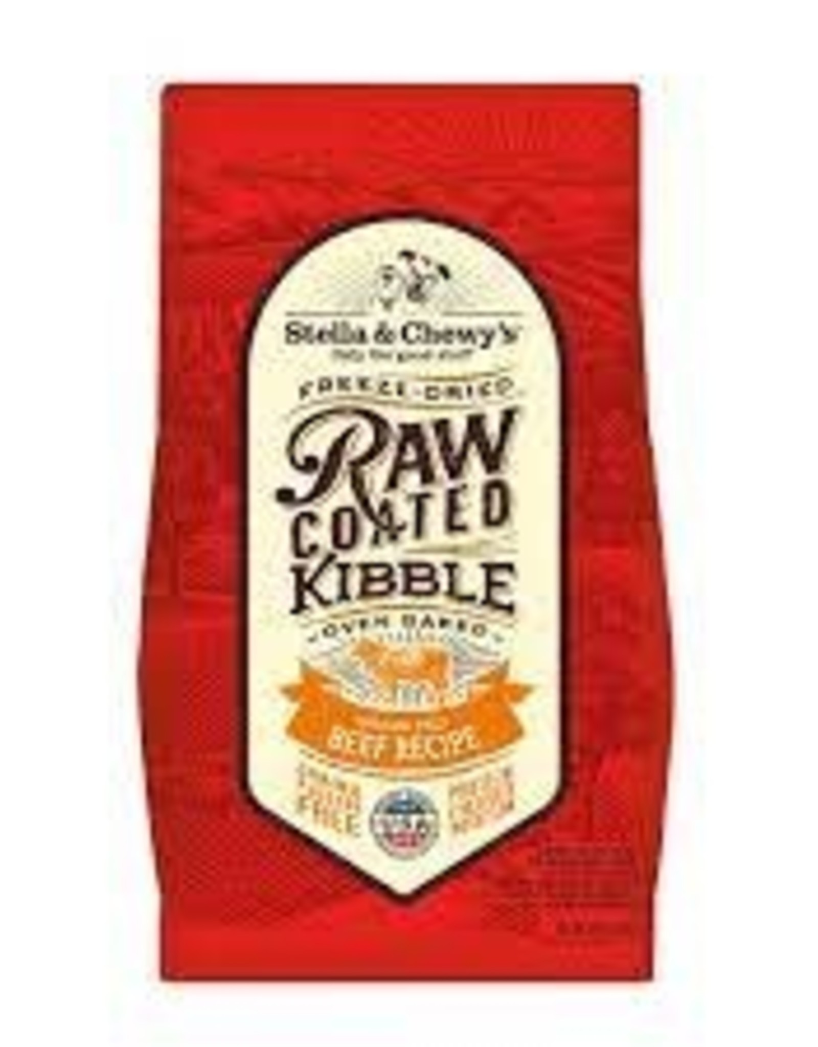 Stella and Chewy Stella & Chewy's Raw Coated Kibble Beef Recipe 3.5 LB