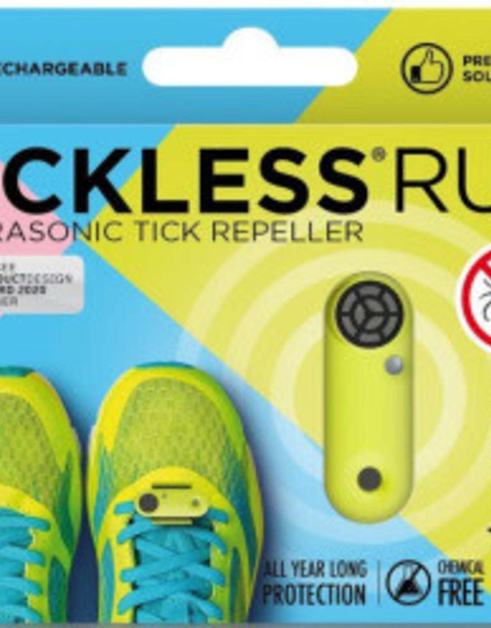 Tickless Tickless Run Neon  Repeller Green Rechargable