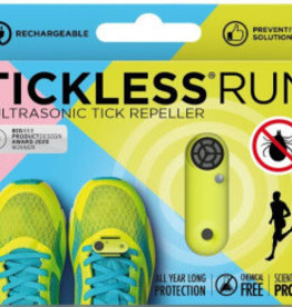 Tickless Tickless Run Neon  Repeller Green Rechargable