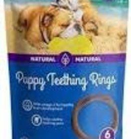 N-Bone N-Bone Puppy Teething Ring Pumpkin Single