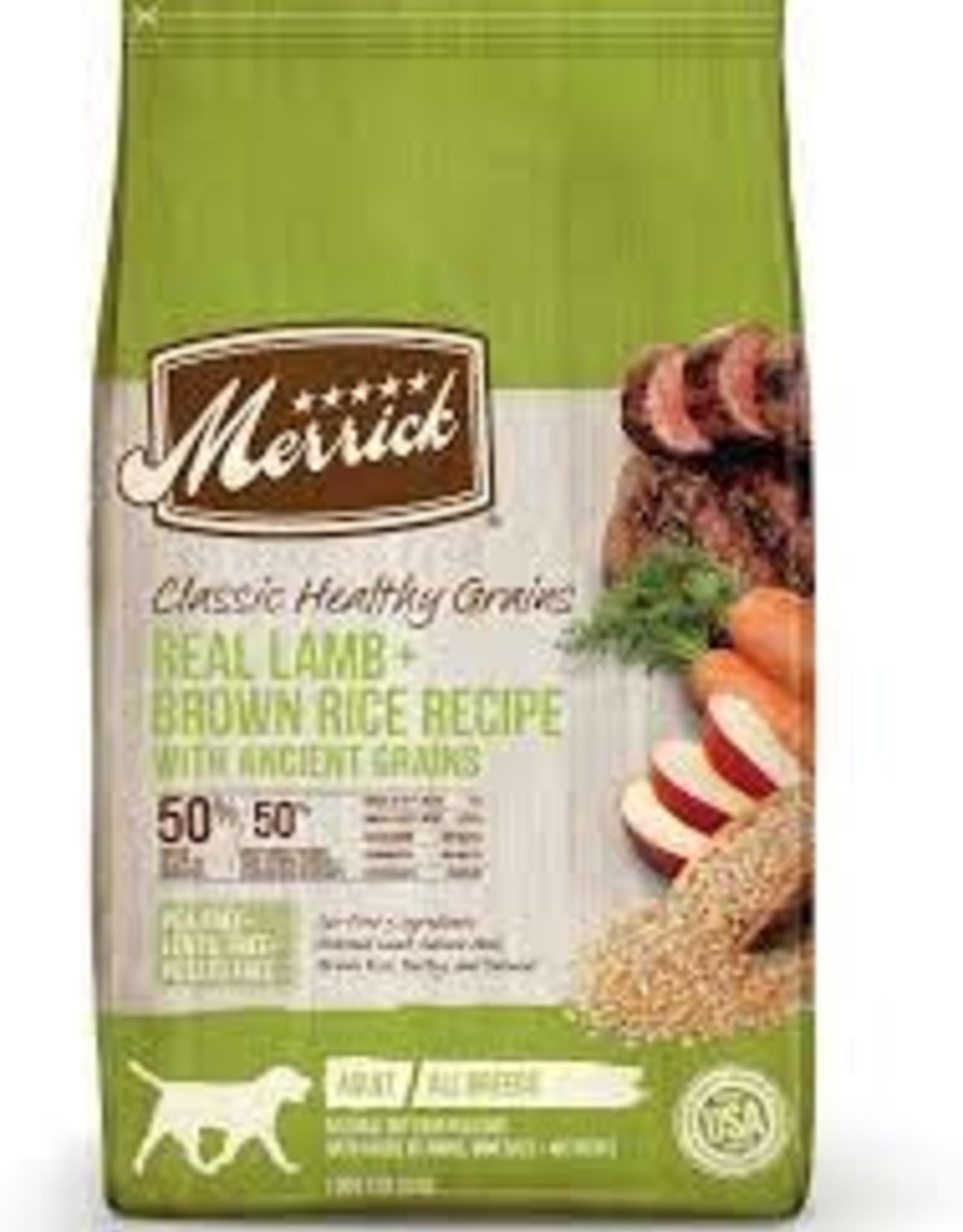 Merrick Merrick Classic Lamb & Healthy Grains 4 LB