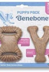 Benebone Benebone Wishbone Bacon  Puppy 2  Pack Under 15 LB