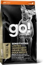 GO GO! LID Dog Dry  Duck 12 LB