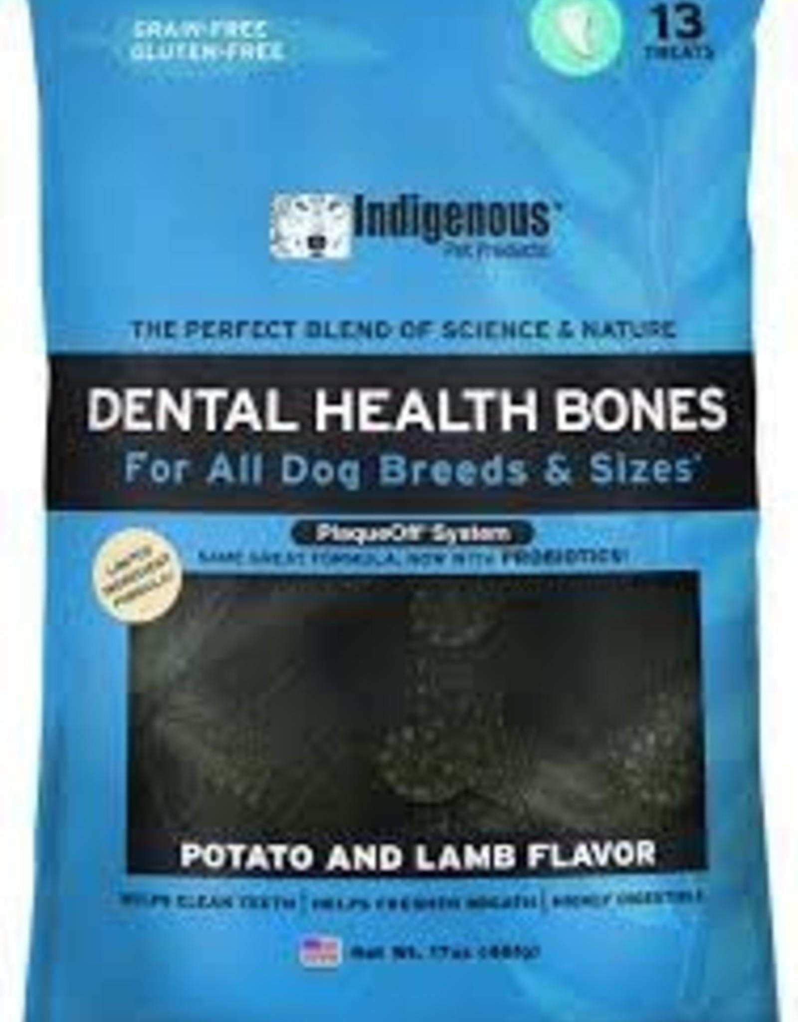 Indigenous Pet Products Indigenous Dental Bones  Potato & Lamb 481 g