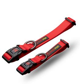 """Smelly Dogz SmellyDogz Adjustable Collar  Red 12""""-16"""" x 3/4"""""""