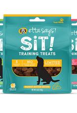 Etta Says Etta Says! Sit! Training Treats Oat  & Peanut Butter 6 oz