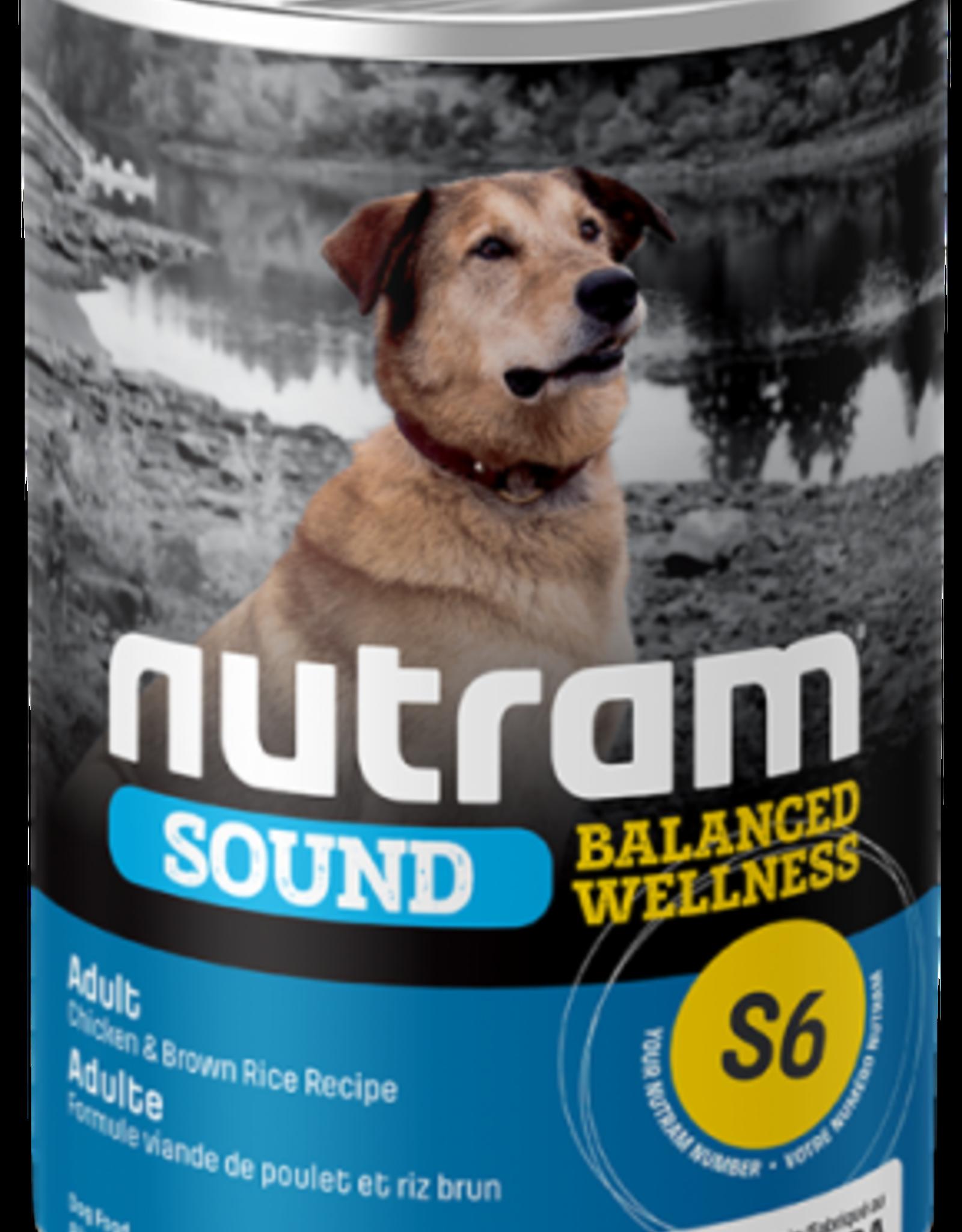 Nutram Nutram S6 Adult  Chicken & Rice 369 g