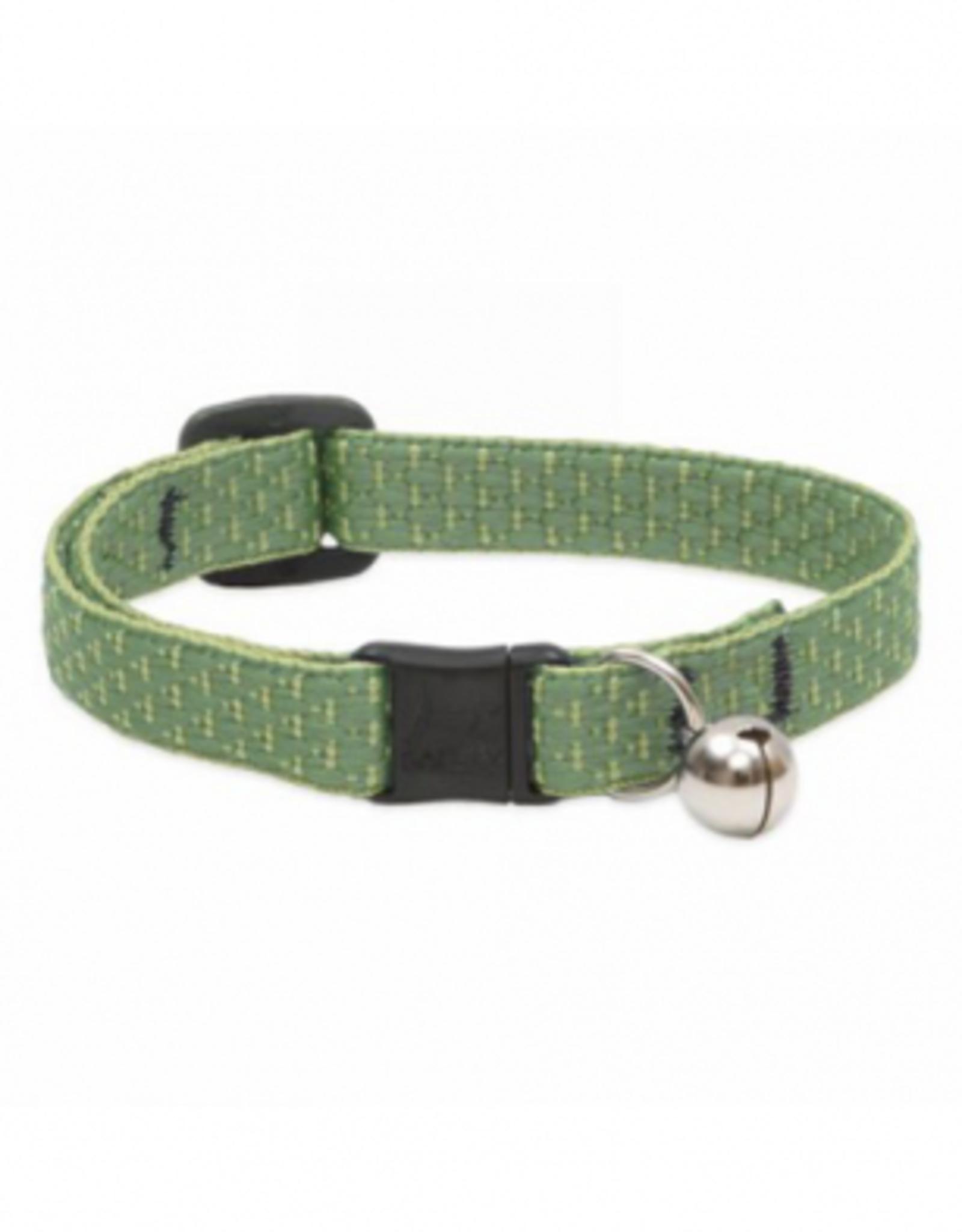"""Lupine Lupine Cat Collar W Bell Moss 1/2"""" x 8-12"""""""